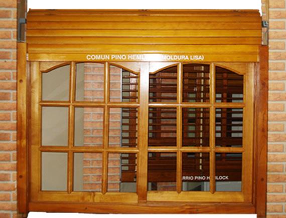 Cat logo l nea madera ventanas for Ventanas en madera